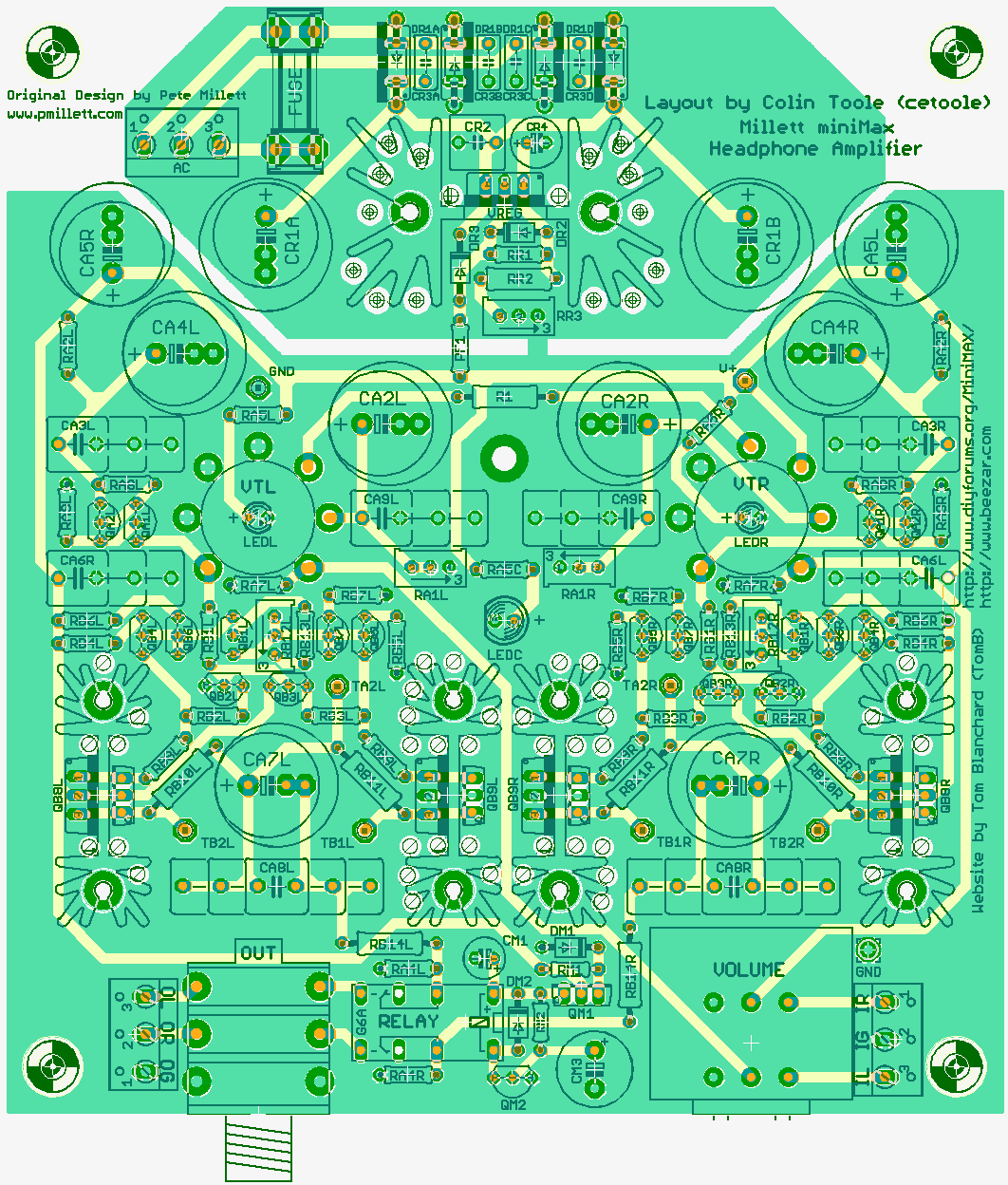 View Topic The New Millett Hybrid Minimax Wiring Diagram Based On Prototype Builds Heres Updated Layout And Schematic Click For Larger Files